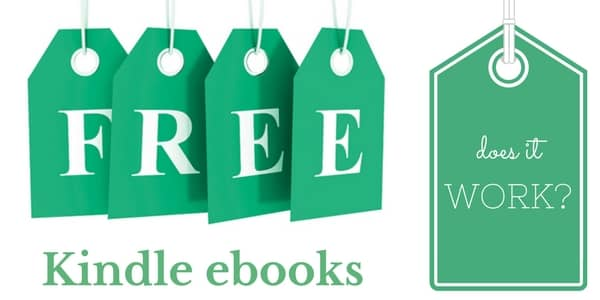 Do Free Kindle Ebook Promotions Work