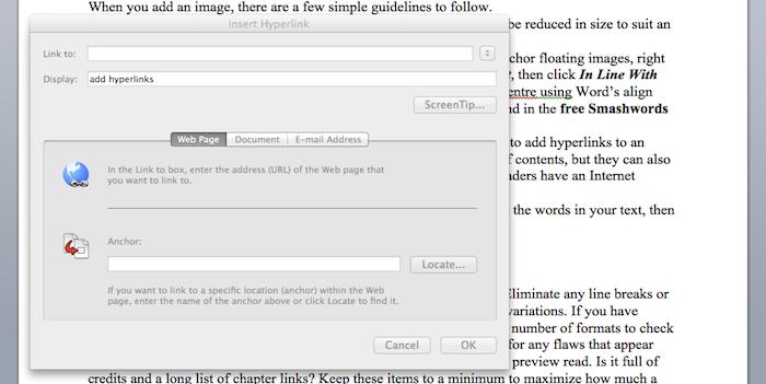 paste hyperlink for a better ebook