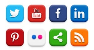 Authors need Social Media Buttons