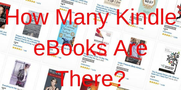 How Many Kindle eBooks Are There?