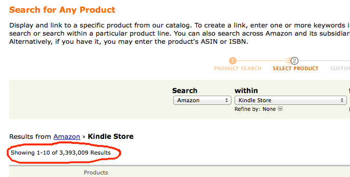 How Many Amazon Kindle eBooks Are There In The Kindle Store?