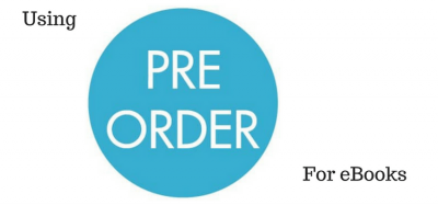 Using Pre Orders for eBooks