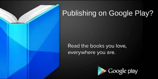 Publishing ebooks on Google Play