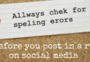 Are you making silly mistakes on social media