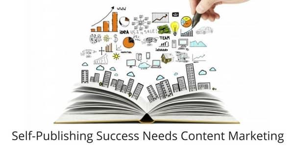 Self Publishing Success Needs Content Marketing