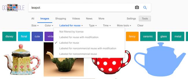 Google Image Filter