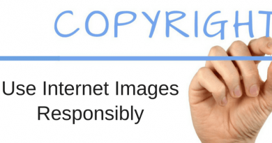 Use Internet Images Responsibly