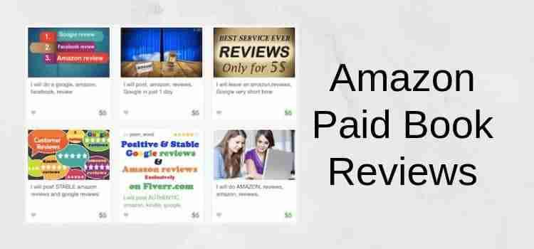 Paid Amazon Reviews