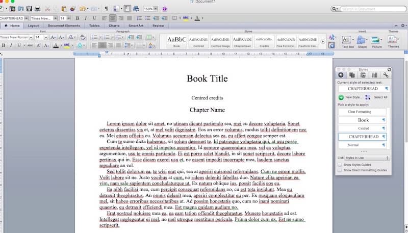 format an ebook 1