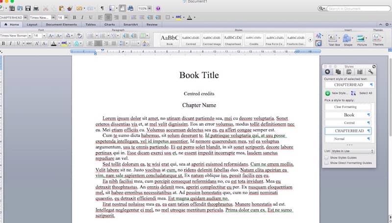 format an ebook 1
