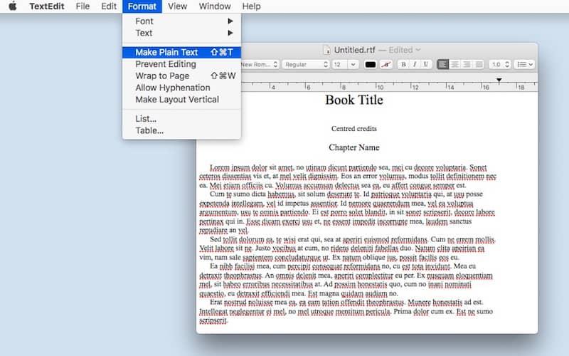 format an ebook 7