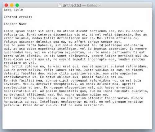 format an ebook 8