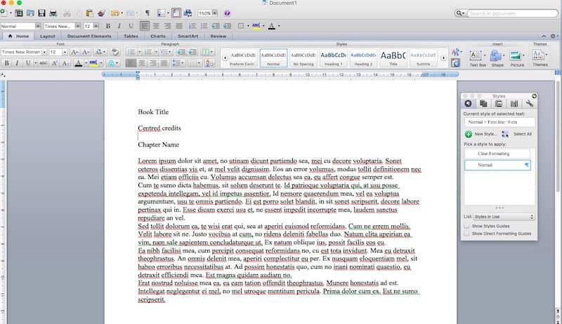 format an ebook 9