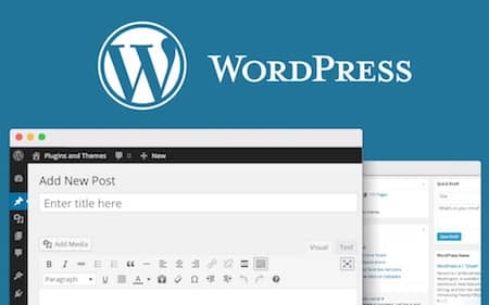 wordpress the best for a free author website