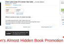 Almost Hidden Amazon Kindle Ebook Promotion Tool