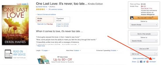 Amazon Kindle embed preview read tool