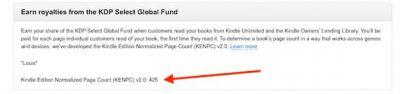 KDP KENP page count