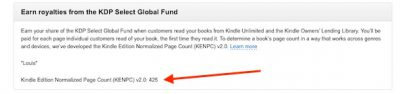 KENP page count