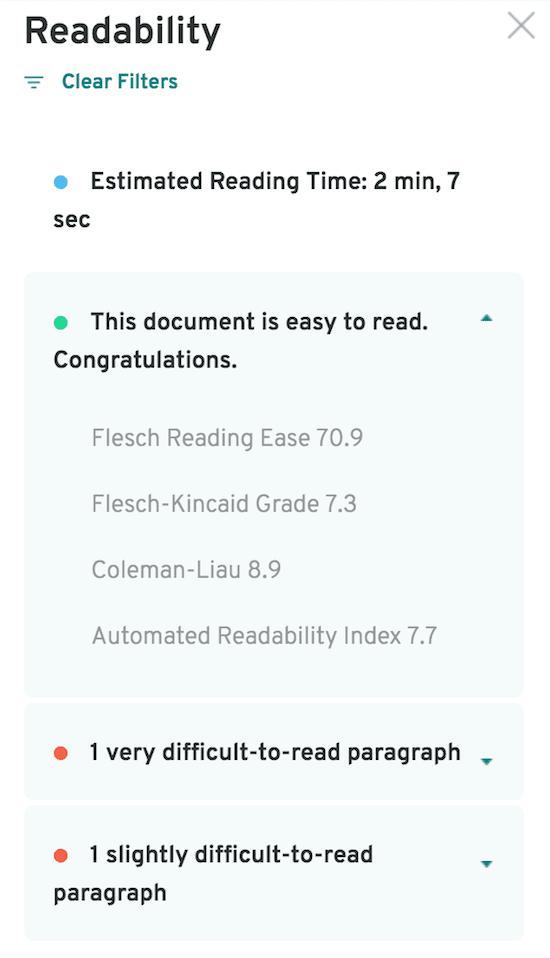 PWA readability