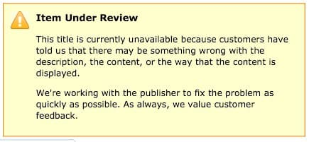 Amazon kindle crackdown on poor quality ebooks kindle poor quality ebook review 2 fandeluxe Image collections