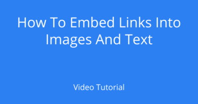 Embed Links Into Images And Text