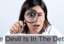 The Devil Is In The Detail In Fiction Writing