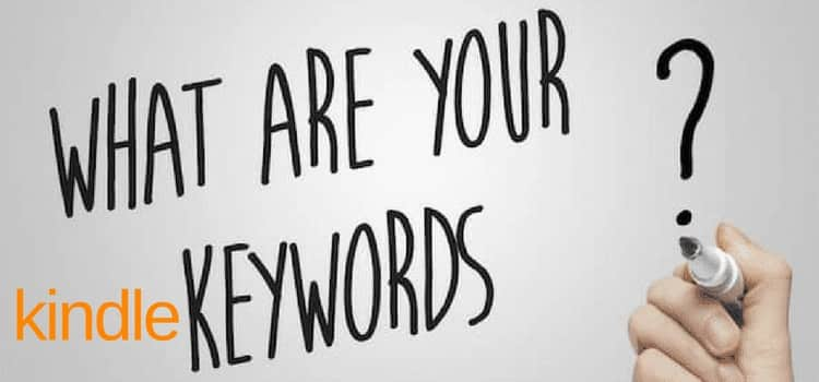 your amazon kindle keywords