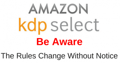 Amazon KDP Select Terms Can Change Without Notice
