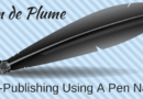Self-Publishing Using A Pen Name