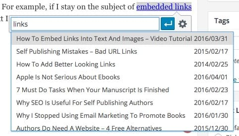 add internal links to improve bounce rate