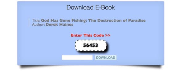 God Has Gone Fishing - Book And Ebook Piracy