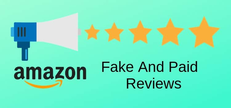 Fake Paid Amazon Reviews