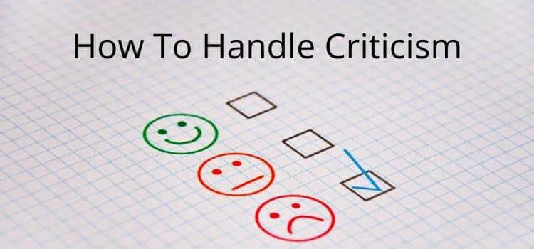 How To Cope With Criticism Online