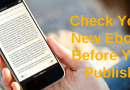 How To Check Your New Book As An Ebook Before You Publish