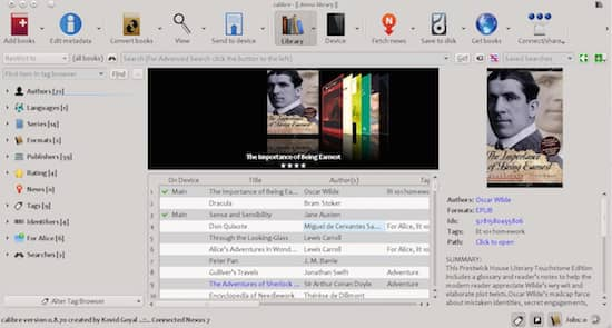 How to convert a file from Word to mobi or epub file with Calibre