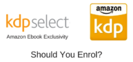 Should I Enrol My Kindle Ebooks In Amazon Kindle KDP Select?
