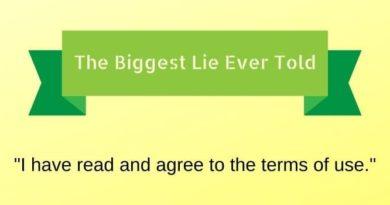 Biggest Lie Ever Told