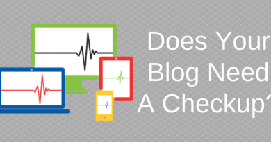 Does Your Blog Need A Checkup