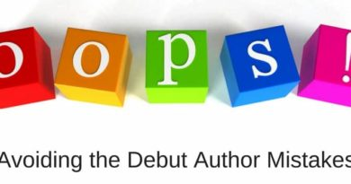 Avoiding Debut Author Mistakes