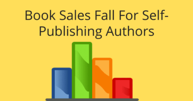 Book Sales Fall For Self-Publishing Authors