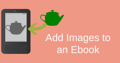 How To Add Images To An Ebook