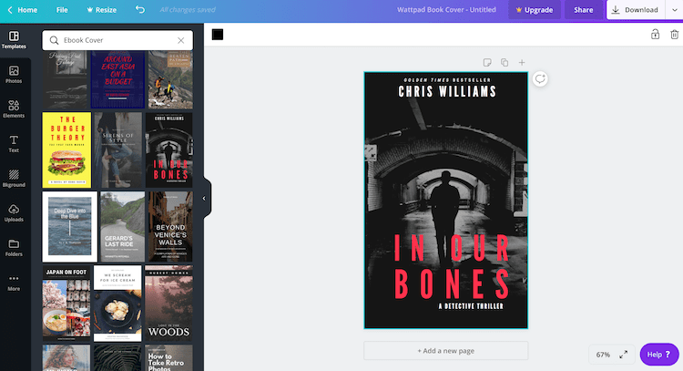 canva ebook