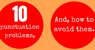 Ten punctuation problems