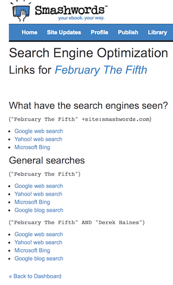 seo on smashwords