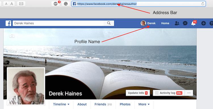 Facebook copy link