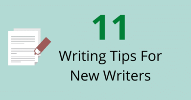 Writing Tips For New Writers
