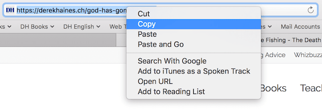select copy
