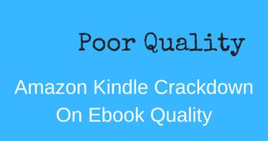 Amazon Kindle Cracks Down On Ebook Quality