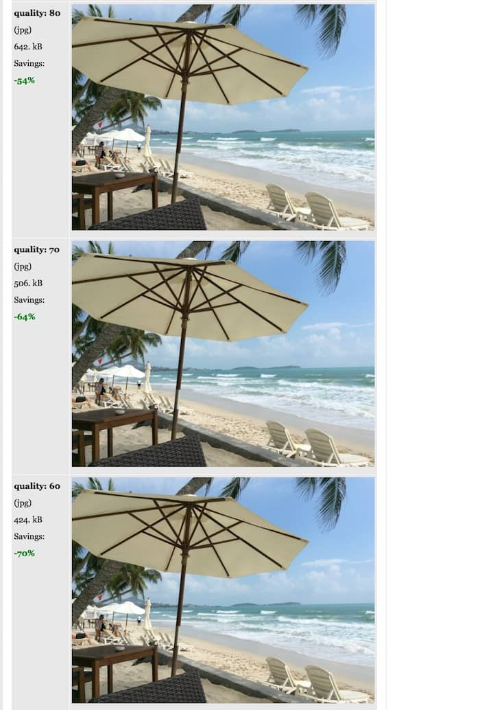 how to compress large images