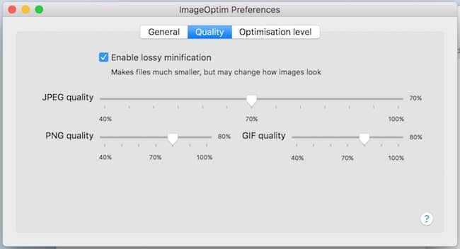 compress images on mac